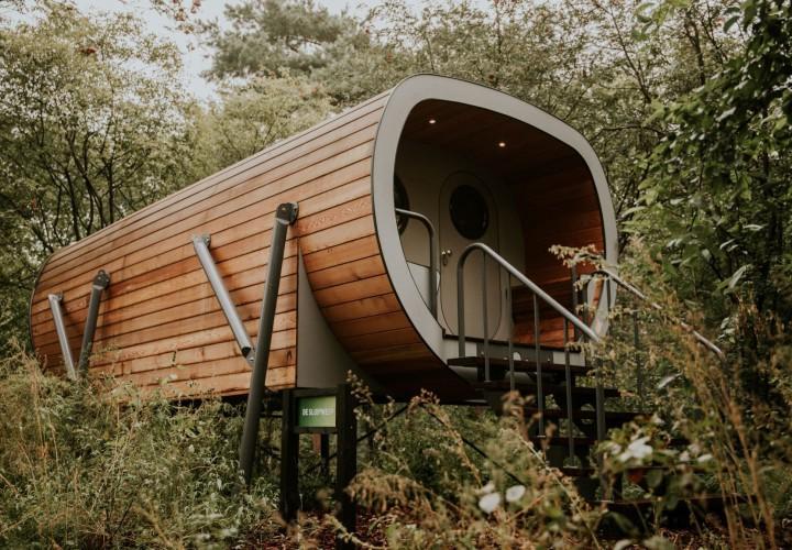 Skycabin op Camping Si Es An